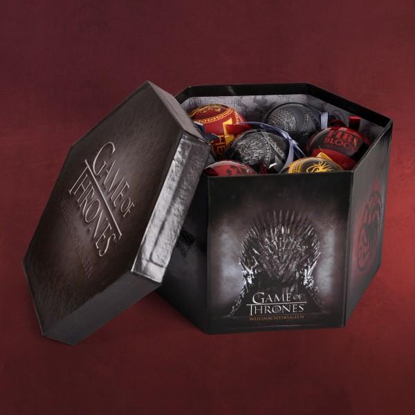 Game of Thrones - Wappen Weihnachtsbaumkugeln 14tlg