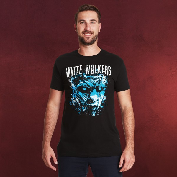 White Walkers Tour T-Shirt schwarz