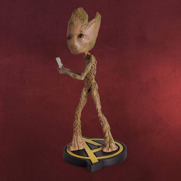 Avengers - Groot Head Knockers Wackelkopf-Figur Deluxe