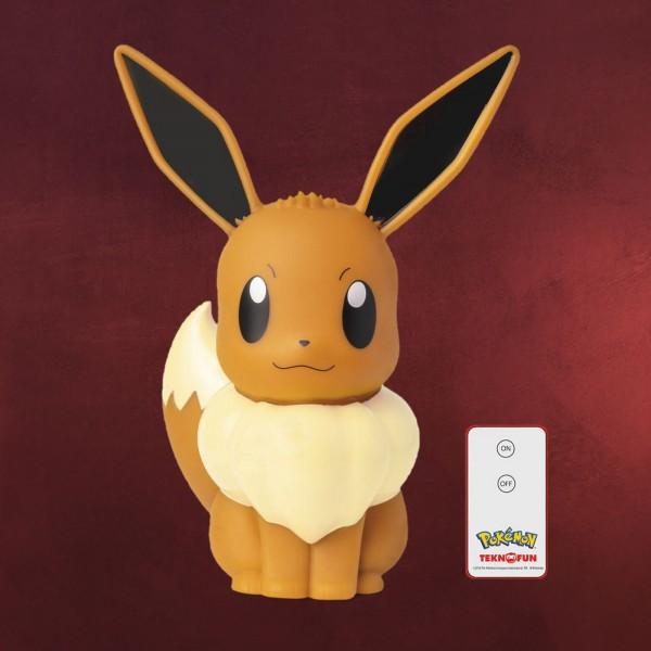 Pokemon - Evoli LED Tischlampe 31 cm mit Fernbedienung