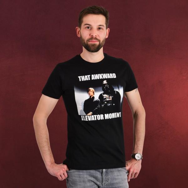Star Wars - Elevator Moment T-Shirt schwarz