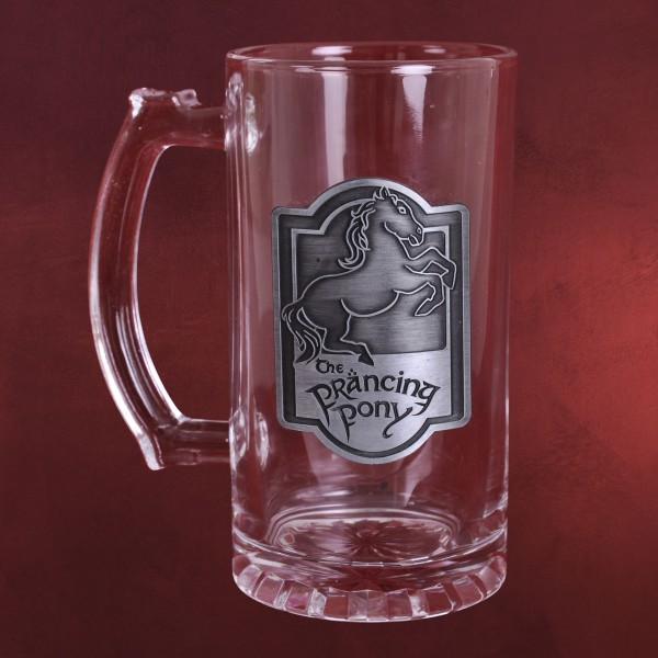 Herr der Ringe - Zum Tänzelnden Pony Glaskrug