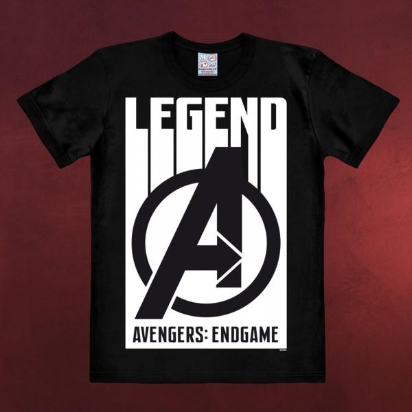 Avengers - Legend T-Shirt schwarz