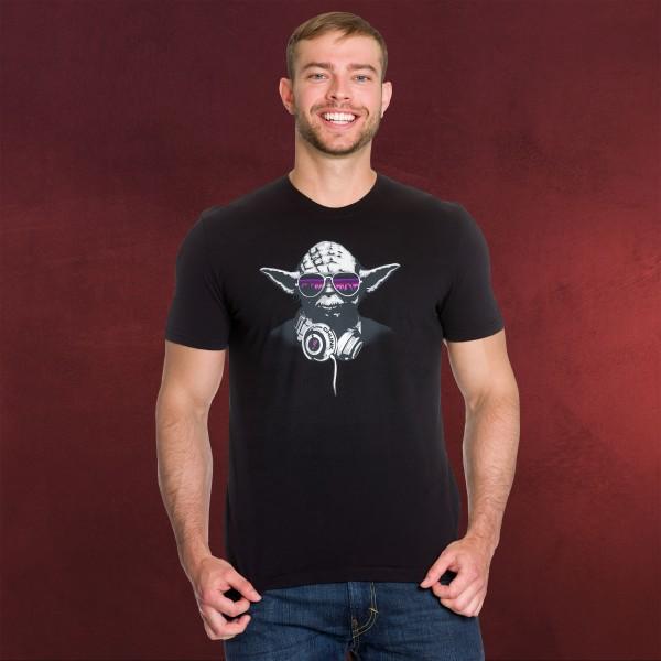 Star Wars - DJ Yoda T-Shirt schwarz