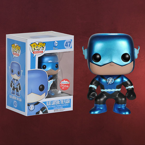 Flash - Blue Lantern Mini-Figur exklusiv