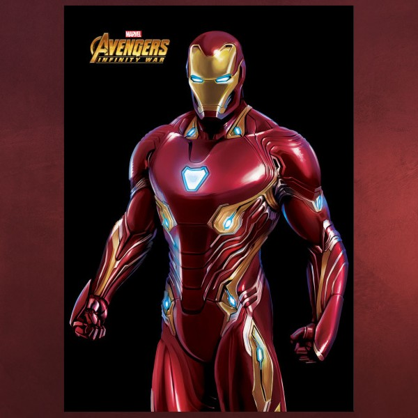Iron Man - Infinity War Metall Poster