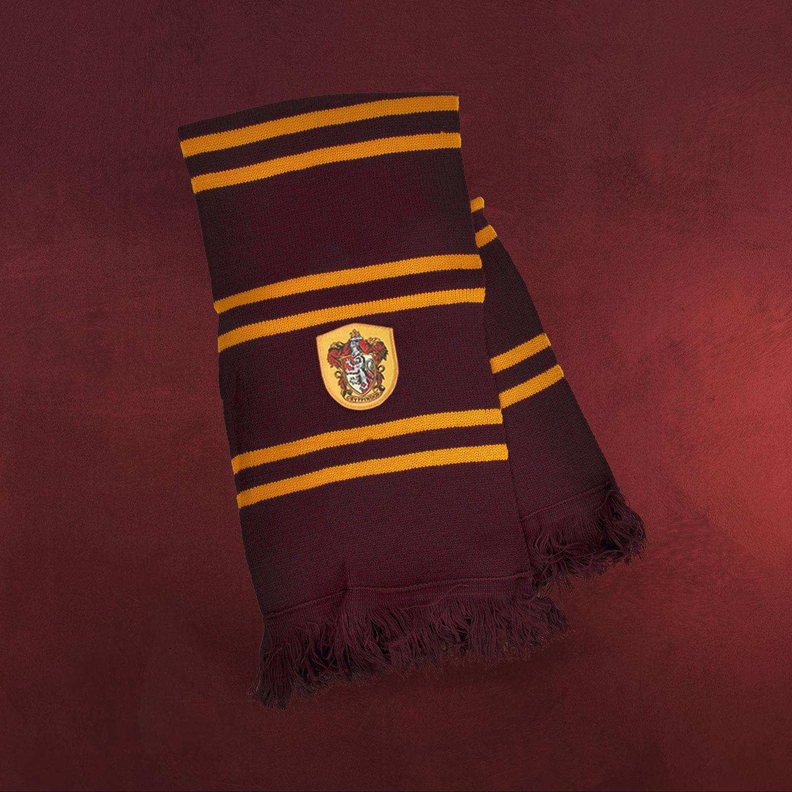 Harry Potter - Gryffindor Schal mit Emblem | Elbenwald