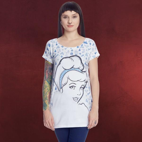 Cinderella - Diva Girlie Shirt creme Loose Fit