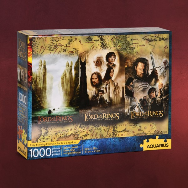 Herr der Ringe - Trilogie Puzzle 1000 Teile