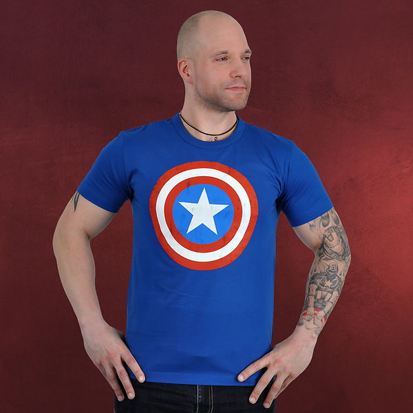 Captain America Shield T-Shirt
