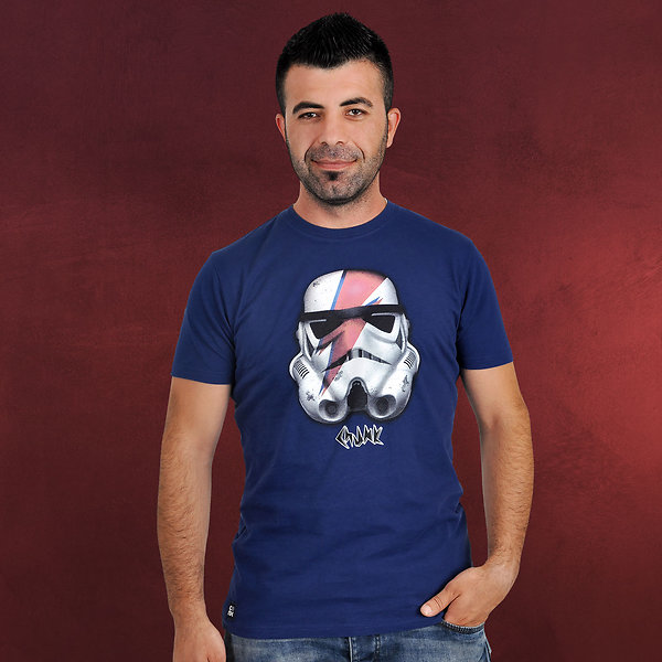 Star Wars - Stormtrooper Rebel T-Shirt blau