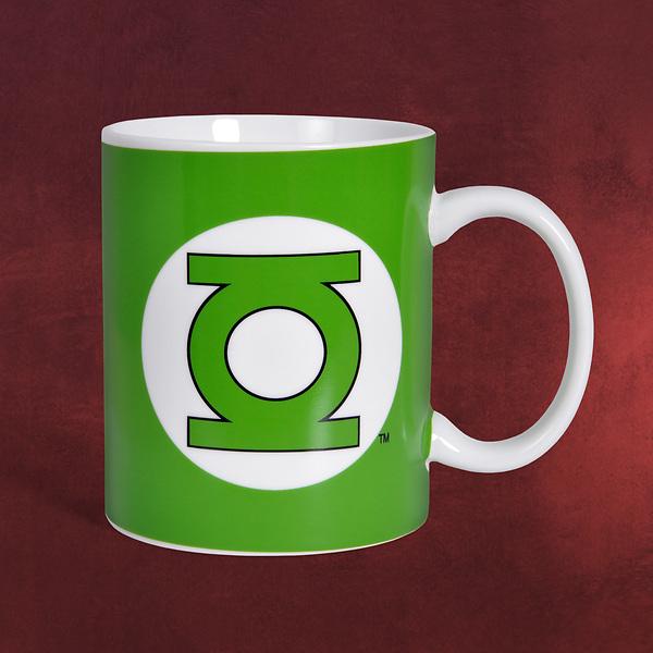 Green Lantern Logo Tasse