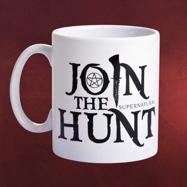 Supernatural - Join the Hunt Tasse XXL