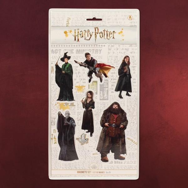 Harry Potter - Characters Magnet-Set 6-teilig