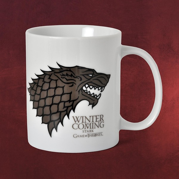 Game of Thrones - House Stark Tasse weiß