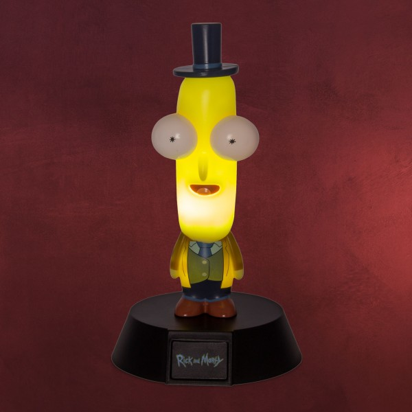 Rick and Morty - Mr. Poopybutthole Icons 3D Tischlampe