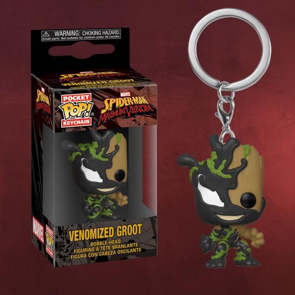 Marvel - Venomized Groot Funko Pop Schlüsselanhänger