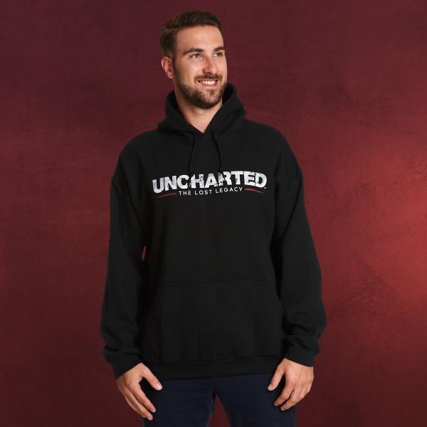 Uncharted - Logo Hoodie schwarz