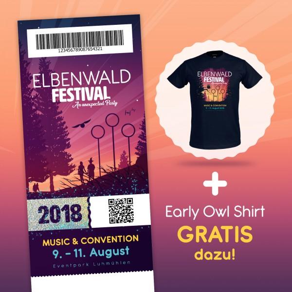Elbenwald Festival Ticket mit Gratis-T-Shirt