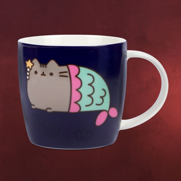 Pusheen - Mermaid Thermoeffekt Tasse