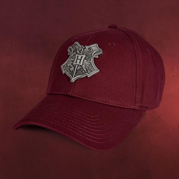 Harry Potter - Hogwarts Metall Wappen Basecap rot