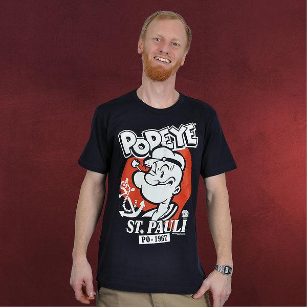 Popeye - St. Pauli T-Shirt navy