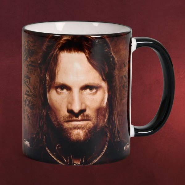 Aragorn Jubiläum Tasse - 20 Jahre Herr der Ringe
