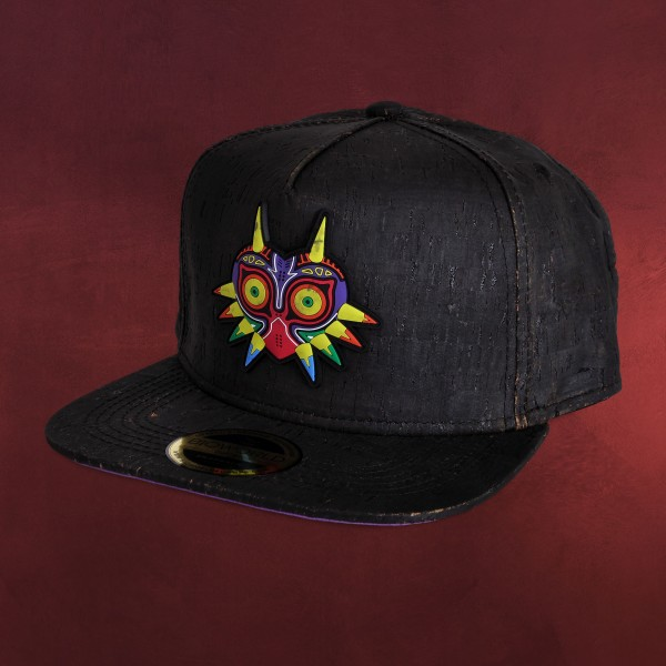 Zelda - Majoras Mask Kork Snapback Cap
