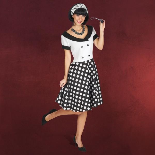 Fifties Girl - Kostüm Kleid Damen