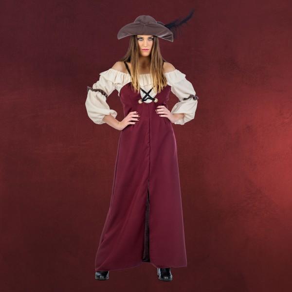 Piratin Grace - Kostüm Damen