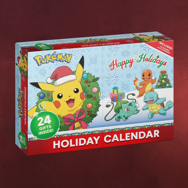 Pokemon - Happy Holidays Adventskalender