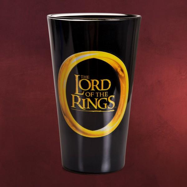 Herr der Ringe - One Ring to Rule Them All Glas