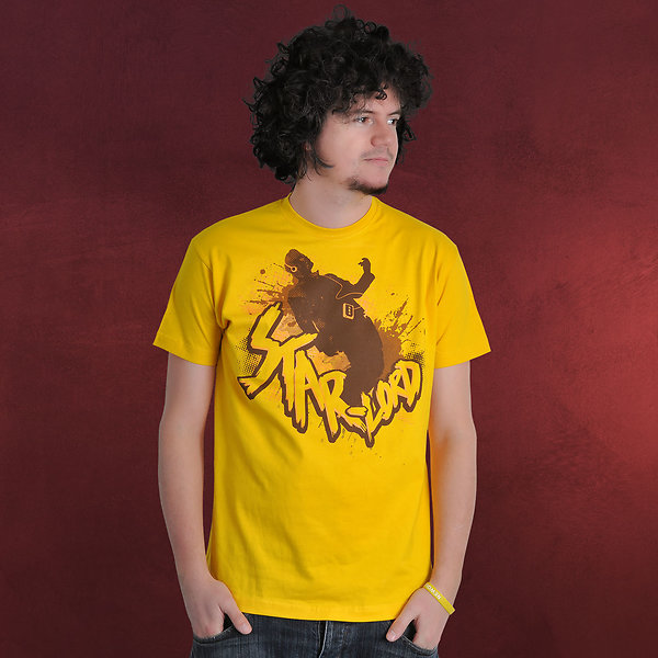 Guardians of the Galaxy - Star-Lord T-Shirt gelb