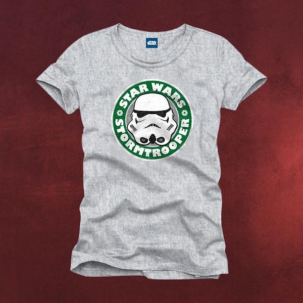 Star Wars - Stormtrooper Emblem T-Shirt grau