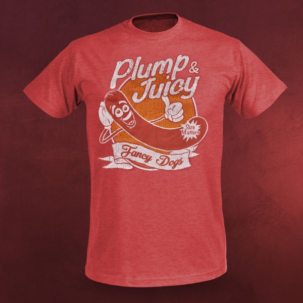 Sausage Party - Plump & Juicy T-Shirt rot