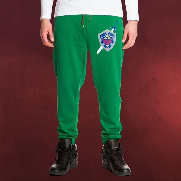 Zelda - Logo Sweathose grün