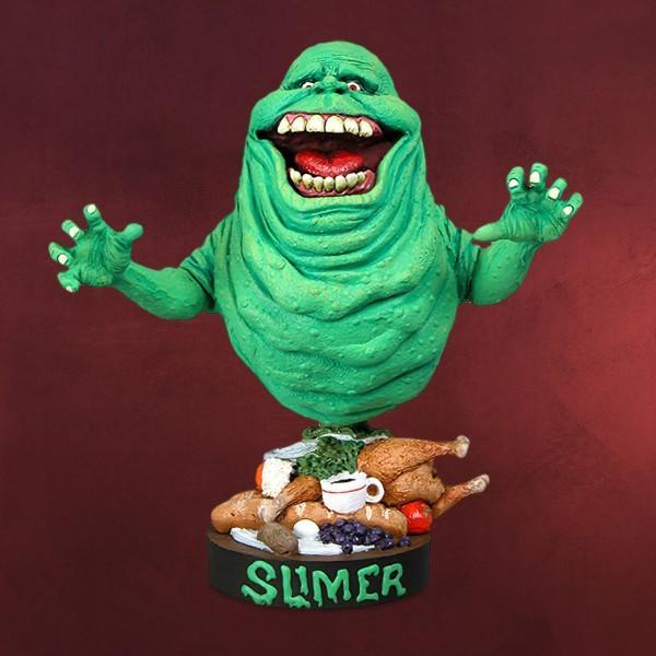 Ghostbusters - Slimer Head Knockers Wackelkopf-Figur Deluxe