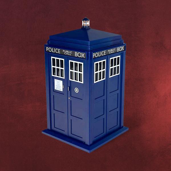 Doctor Who - Tardis Keksdose mit Licht und Sound