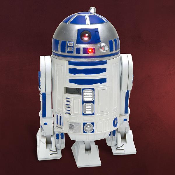 R2 D2 - 3D Wecker mit Sound