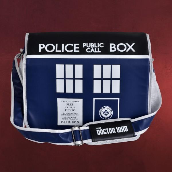 Doctor Who - Tardis Police Box Tasche blau