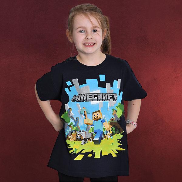 Minecraft - Adventure Kinder Shirt
