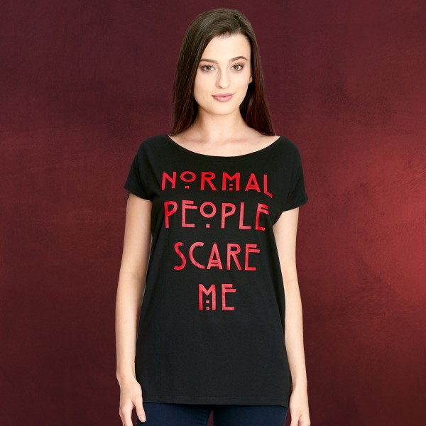 American Horror Story - Normal People Scare Me T-Shirt Damen Loose Fit