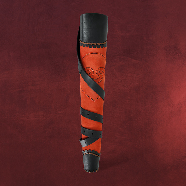 Rückenköcher Archer - rot