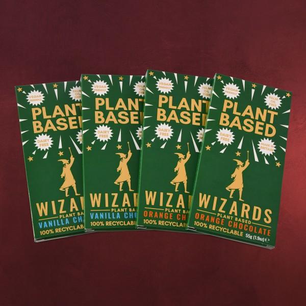 Wizards Magic - Plant Based Selection Schokolade 4 Tafeln