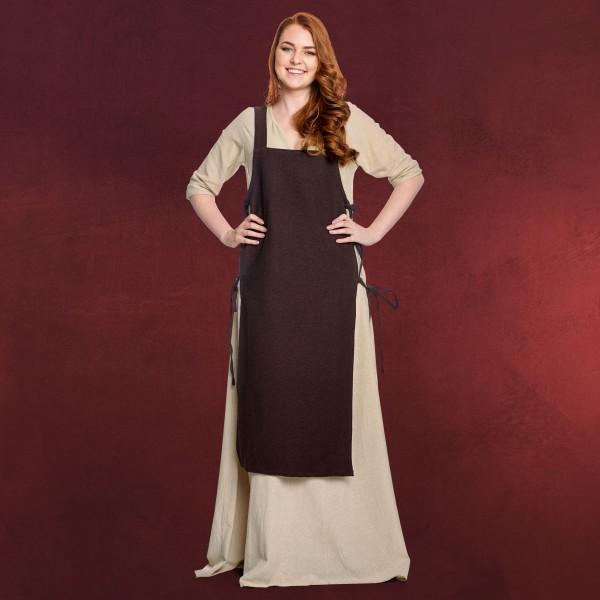 Mittelalter Überkleid Aleiga braun