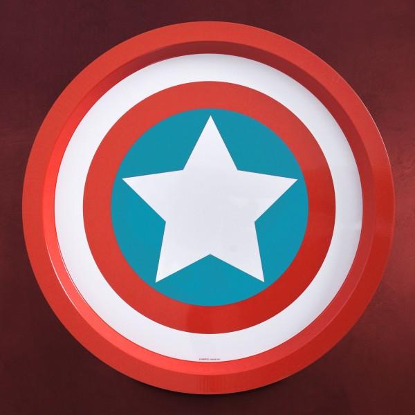 Captain America - Shield Deko Teller