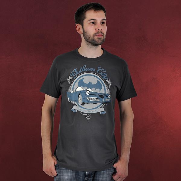 Batman - Retro Mobil T-Shirt