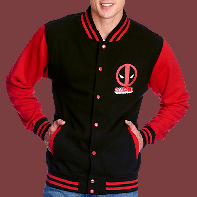 Deadpool - Logo College Jacke