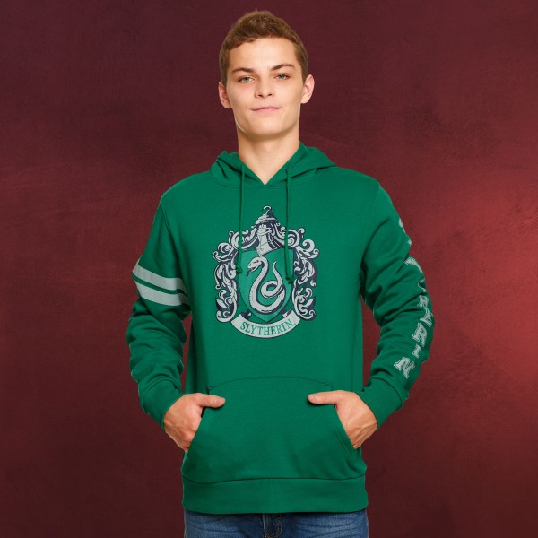 Harry Potter - Slytherin Wappen Hoodie