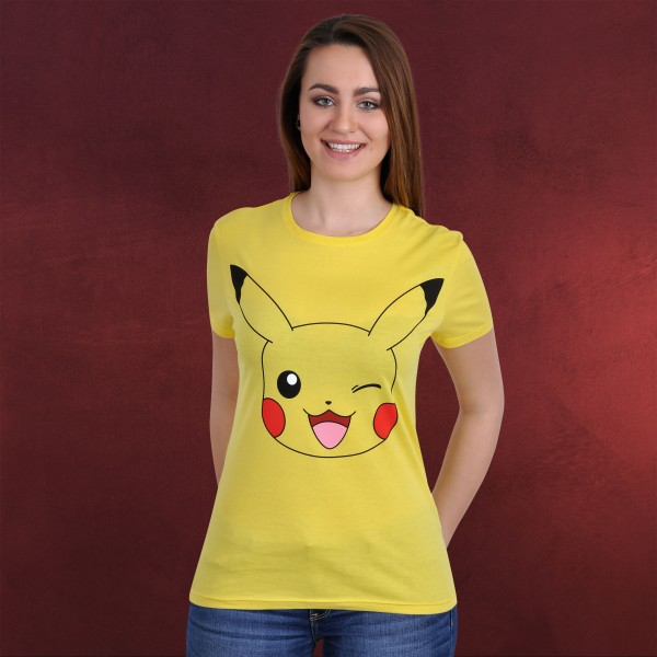 Pokemon - Pikachu T-Shirt gelb